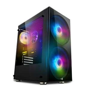 PC Gamer Fixe - Ryzen 5 3600, MSI B450M, 16 Go de RAM, RTX 3060 (12Go), SSD NVMe 500Go, Alim BeQuiet 600W, Windows 10