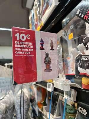 10€ de réduction sur une sélection de supports manette Cable Guys - Ormesson-sur-Marne (94)