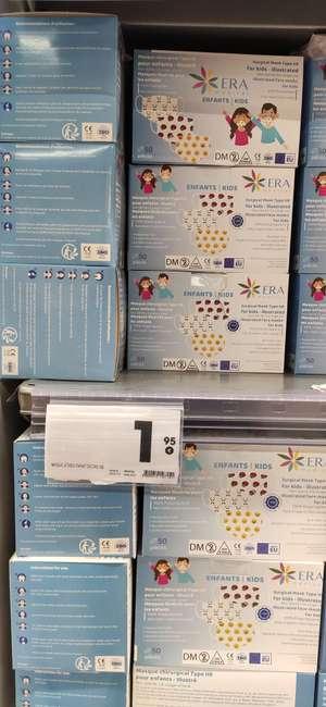Boîte de 50 masques chirurgicaux illustrés pour enfants - Villeneuve Loubet (06)