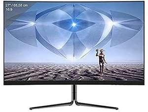 """Écran PC incurvé 27"""" LC-M27-FHD-165-C - Full HD, 16:9, 4 ms, VA, 2 HDMI, DP, 165 Hz"""