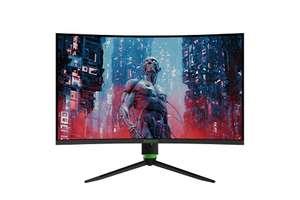 """Écran PC 32"""" Monster Aryond A32 V1.1 Gaming incurvé - QHD, 165 Hz, 1 ms, FreeSync, G-Sync (vendeur tiers - via coupon)"""