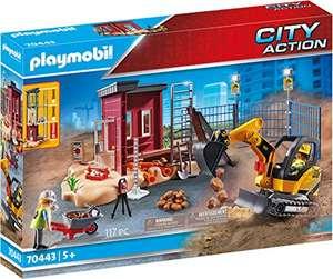 Jouet Playmobil Mini-Pelleteuse et Chantier - 70443