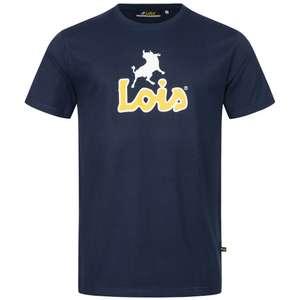 Sélection d'articles Lois Jeans - Ex: T-shirt Lois Jeans Big Logo Navy - Différentes tailles