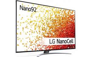 "TV 65"" LG 65NANO92 - 4K 120 FPS, FreeSync VRR, NanoCell, HDR-10, Dolby Vision IQ, Google Assistant, Alexa et ThinQ (via ODR de 200€)"