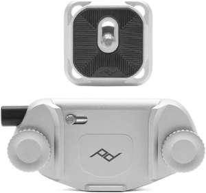 Support de fixation pour appareil photo Peak Design Capture V3 - argent (support & plaque)