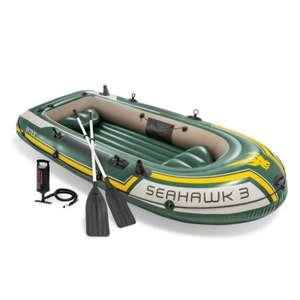 Set bateau gonflable Intex Seahawk 3 (295 cm, avec pagaies et siège) - Brack.ch (frontaliers Suisse)