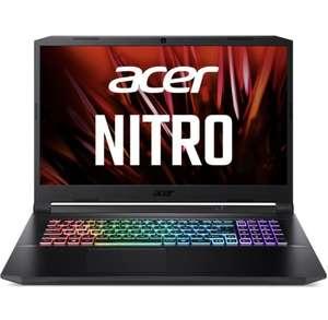 "PC Portable 17,3"" Acer Nitro AN517-41-R3J6 - 144 Hz, Ryzen 7 5800H, RTX 3080, RAM 16 Go, SSD 1 To (1829€ + 54.87€ en RP avec RAKUTEN20)"
