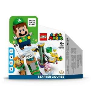 Jouet Lego Super Mario - Pack de Démarrage Les Aventures de Luigi 71387