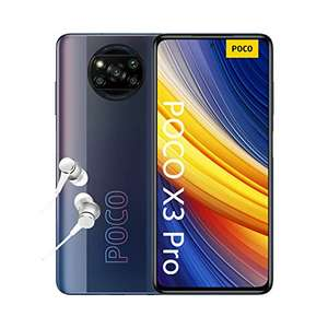 "Smartphone 6.67"" Poco X3 Pro - 120Hz FHD, 8 Go de Ram, 256 Go, Snapdragon 860, Batterie 5160mAh, Noir ou Bleu"