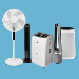 10€ de remise immédiate par tranche de 100€ d'achat sur les ventilateurs, rafraîchisseurs d'air, climatiseurs mobiles, purificateurs,...