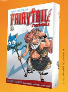Tome 1 Fairy Tail en grand format (Edition Hachette)