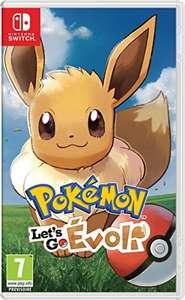 Jeu Pokémon Let's Go Evoli sur Nintendo Switch