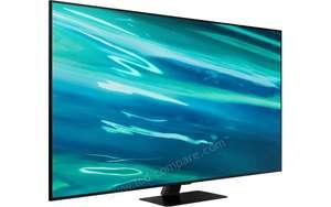 """TV 55"""" Samsung QE55Q80A - 4K UHD, QLED, Smart TV (via ODR de 100€)"""