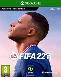 [Pré-commande] FIFA 22 sur Xbox One, Xbox Series X & PS5 (+ 1.8€ en Rakuten Points)