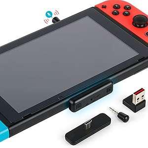 Transmetteur Bluetooth sur Jack 3.5mm pour Nintendo Switch Gulikit - avec microphone (vendeur tiers)