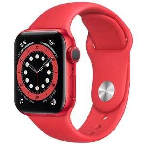 Montre connectée Apple Watch Series 6 (GPS) - 40 mm, Rouge (313.18€ avec RAKUTEN20 + 9.40€ en Rakuten Points)