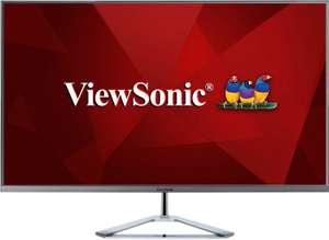 """Écran PC 32"""" ViewSonic VX3276-2K-MHD - WQHD, LED IPS, 75 Hz, 3 ms"""