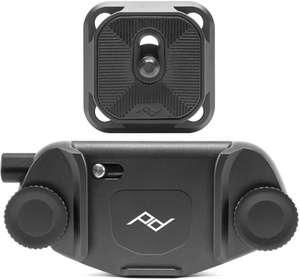 Support pour appareil photo Peak Design Capture Clip V3 - avec plateau, noir (+ 2.01€ en Rakuten Points, 56.99€ via RAKUTEN10)