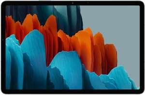 "[Étudiants] Tablette tactile 11"" Samsung Galaxy Tab S7 (WQHD+, SnapDragon 865+, 6 Go RAM, 128 Go) + Protection Book Cover (Via ODR de 100€)"