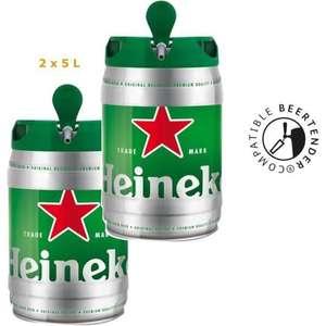2 fûts de bières Heineken - 2 x 5 L