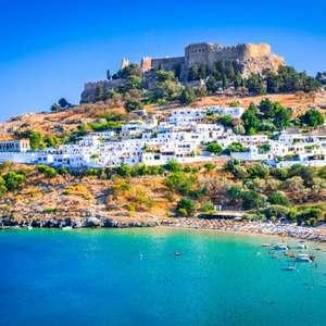 Séjour de 8 jours en demi-pension à Rhodes en Grèce - hôtel 3* Lardos Bay + vols Ryanair depuis Marseille, du 11 au 18 octobre, par personne