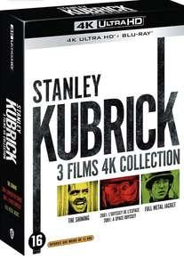 Coffret Blu-ray 4K UHD Stanley Kubrick - 2001, l'Odyssée de l'espace + Full Metal Jacket + Shining
