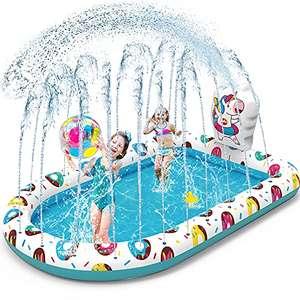 Pataugeoire gonflable Vatos - avec jets d'eau, 170.18x114.3 cm (vendeur tiers)