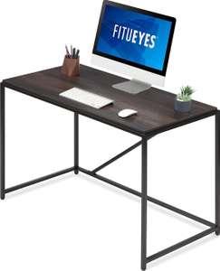 Bureau d'ordinateur Fitueyes - Couleur bois chêne foncé 110 x 60 x 77cm (vendeurs tiers - via coupon)