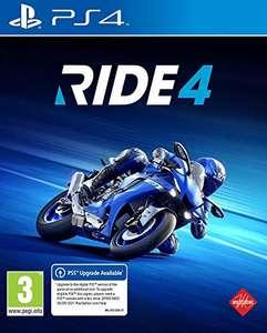 RIDE 4 sur PS4 (vendeur tiers)