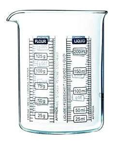 Verre doseur Pyrex Kitchen Lab - 0.25L
