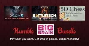 Humble Big Brain Bundle - XCOM 2 + Battletech et 5 jeux sur PC (Dématérialisés - Steam)