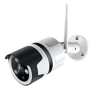 Caméra de Surveillance Extérieure WiFi Netvue - Full HD, Compatible avec Alexa,Vision Nocturne, Détection Mouvement (Vendeur tiers)