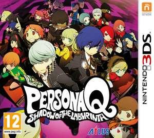 Sélection de jeux Nintendo 3DS en promotion (Dématérialisés) - Ex: Persona Q