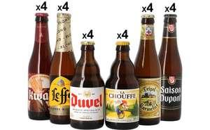[Nouveaux clients] Pack de 24 Bières Belges