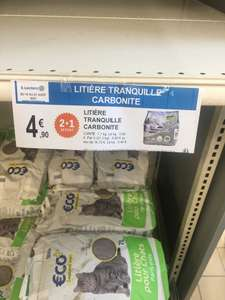 Lot de 3 sacs de litière Carbonite Tranquille