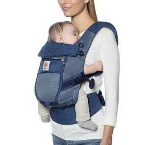 Porte bébé physiologique Ergobaby Adapt Cool Air Mesh - bleu