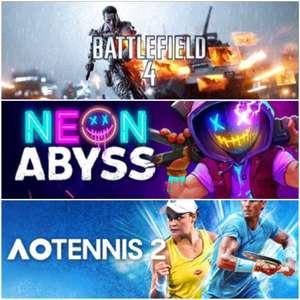 [Gold] AO Tennis 2, Battlefield 4 & Neon Abyss jouables gratuitement sur Xbox ce weekend (dématérialisés)