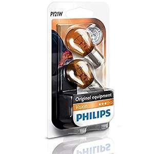 Lot de 2 ampoules de feux clignotants Philips Vision 12496NAB2 - 21 W, 12 V