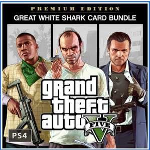 Bundle Grand Theft Auto V : Édition Premium + 1 250 000 GTA$ sur PS4 (Dématérialisé)