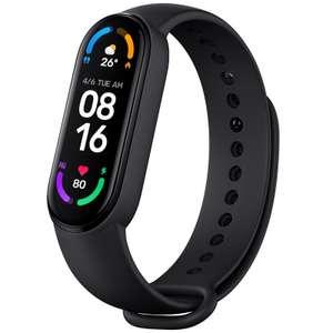 Bracelet connecté Xiaomi Mi Band 6 - Noir (Version CN à 23.01€ & Global à 24.89€)