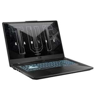 "PC Portable Gamer 17.3"" Asus F17-TUF706HC-HX080 - FHD 144Hz - i7-11800H - RAM 16Go - SSD 512Go - RTX 3050 4Go - Sans OS"