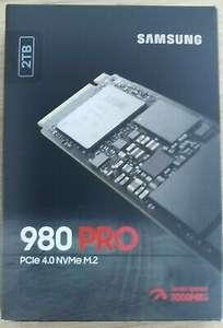 SSD M.2 PCIe NVMe Samsung 980 Pro MZ-V8P2T0BW - 2To