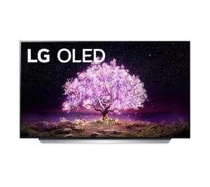 "TV 55""LG OLED55C18 - OLED 4K, Cinema HDR avec Dolby Vision IQ et Filmmaker Mode, Certifié Dolby Atmos (Frontaliers Suisse)"