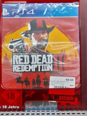 Red Dead Redemption II sur PS4 - Freibourg (Frontaliers Allemagne)