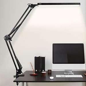 Lampe de Bureau LED, 10W, style Architecte Pliable avec Clamp, Bras Pivotant en Métal, Température de Couleur Réglable (Vendeur Tiers)