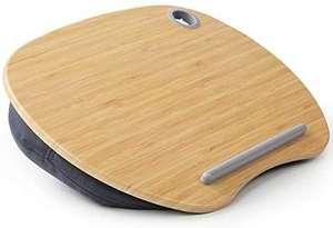 """Support pour PC et tablette 15,6"""" avec coussin et plateforme en bambou Huanuo (vendeur tiers)"""