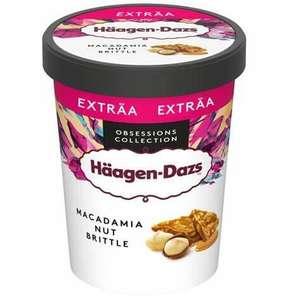 Pot de crème glacée Haagen-Dazs - 560g, parfum au choix