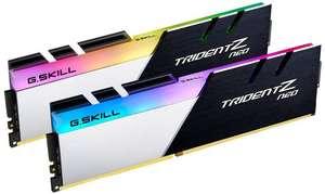 Kit mémoire RAM DDR4 32 Go (2X16Go) 3600 CL18 - G.Skill Trident Z Neo (F4-3600C18D-32GTZN)