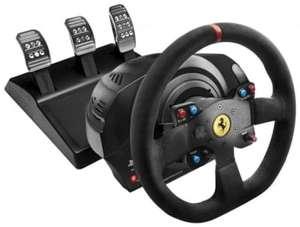 Volant avec pédalier Thrustmaster T300 Ferrari Integral Alcantara Edition pour PS3, PS4 & PC