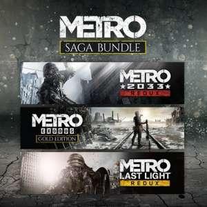 PS+ : Pack Metro Saga sur PS4 (Dématérialisé)